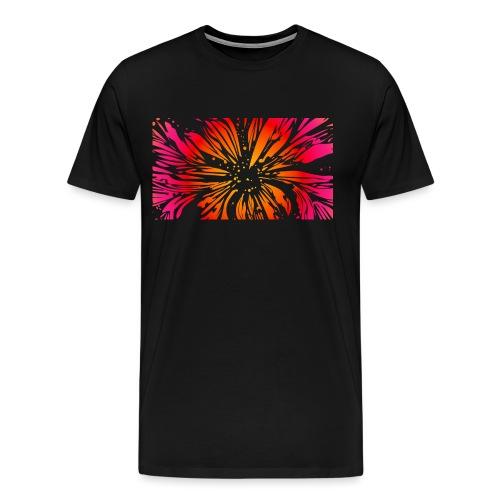 pétales sauvages - T-shirt Premium Homme