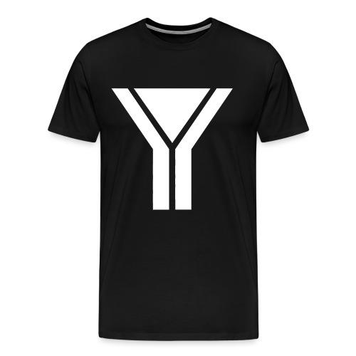 Logo 2 Design White png - Men's Premium T-Shirt