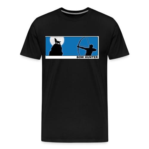 3d_wolf_recurve - Männer Premium T-Shirt