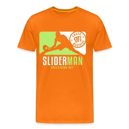 slidermanbanner2 - T-shirt Premium Homme