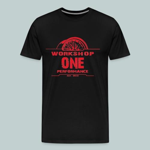 kirschrot.png - Männer Premium T-Shirt