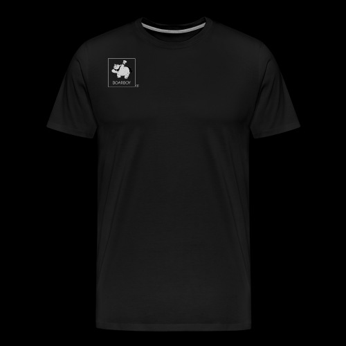 boarboy logo - Men's Premium T-Shirt
