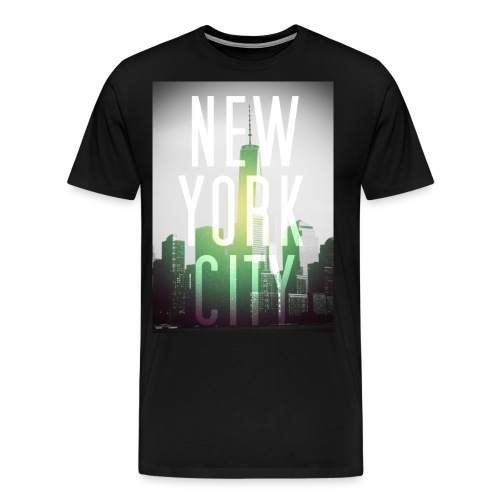 New York Green - Männer Premium T-Shirt
