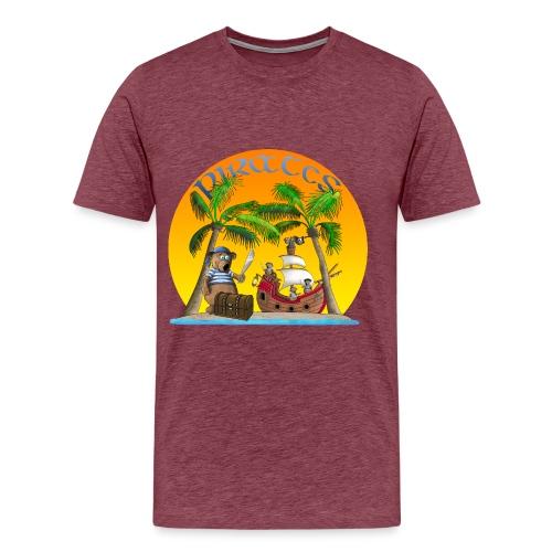 Piraten - Schatz - Männer Premium T-Shirt
