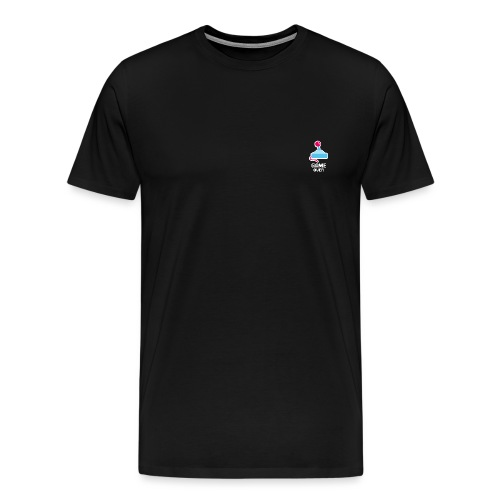 GameoverLogotekst - Mannen Premium T-shirt