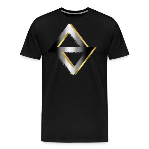 PKC-> Triangel in Silver and Gold - Men's Premium T-Shirt