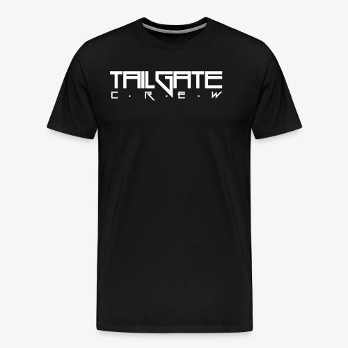 Tailgate hvit - Premium T-skjorte for menn