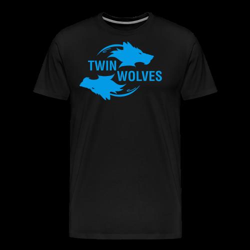 Twin Wolves Studio - Maglietta Premium da uomo