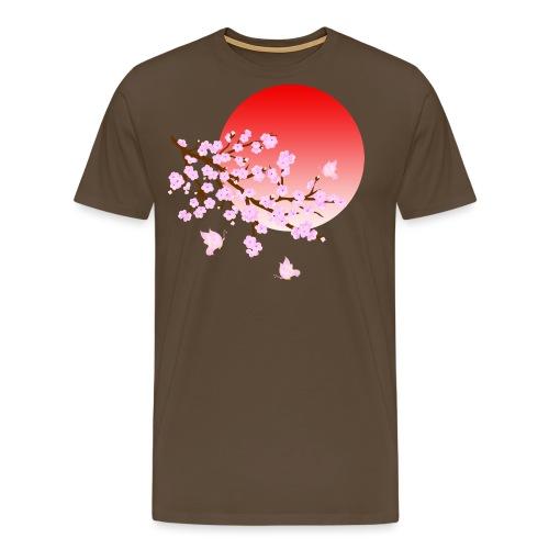 Cherry Blossom Festval Full Moon 3 - Männer Premium T-Shirt