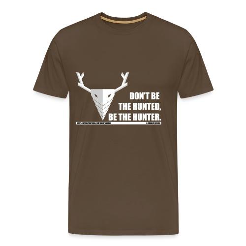 nieuw logo slogun - Mannen Premium T-shirt