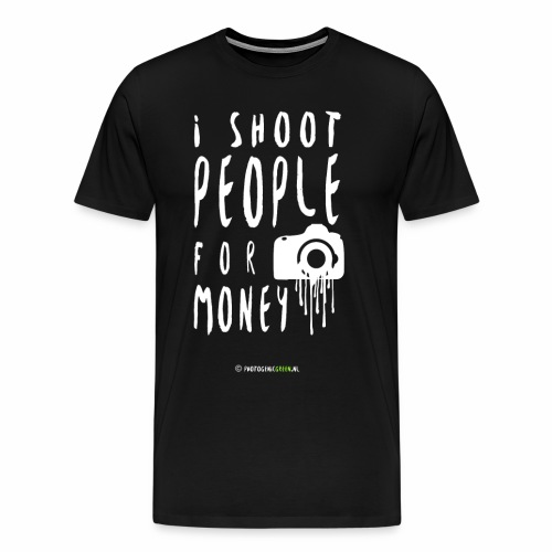 I shoot people! - Mannen Premium T-shirt