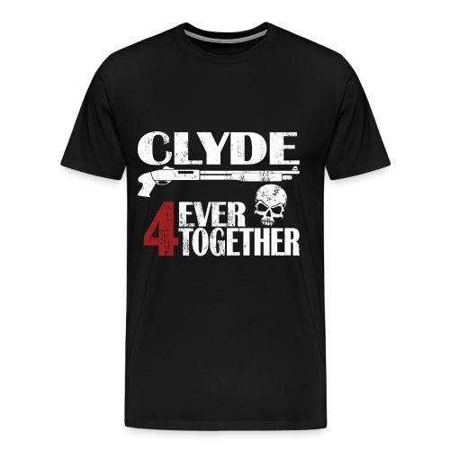 Bonnie - Clyde Geschenk Geschenkidee - Männer Premium T-Shirt