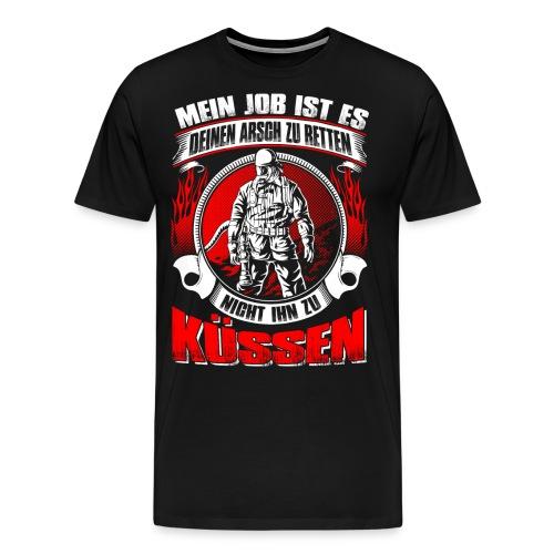 Arsch retten - Männer Premium T-Shirt