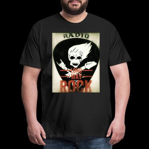 Radio Long Way Rock - T-shirt Premium Homme