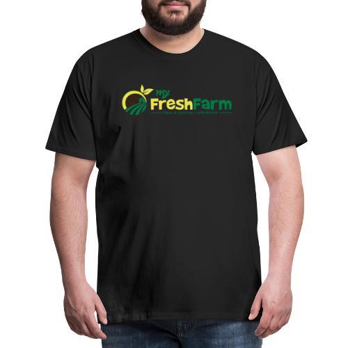 My Fresh Farm Logo COLOR - Männer Premium T-Shirt