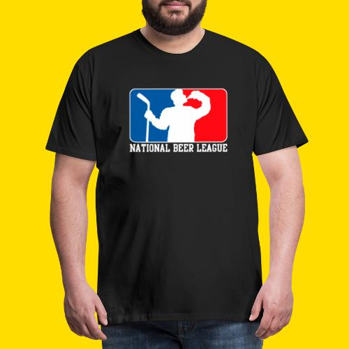National Beer leauge - Eishockey Fun Shirt - Männer Premium T-Shirt