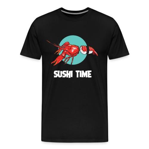 SUSHI TIME-gambero-b - Maglietta Premium da uomo
