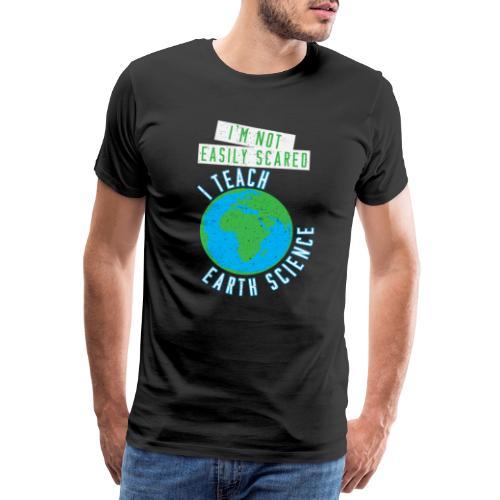 Erdwissenschaften Erdkunde Lehrer Schule - Männer Premium T-Shirt