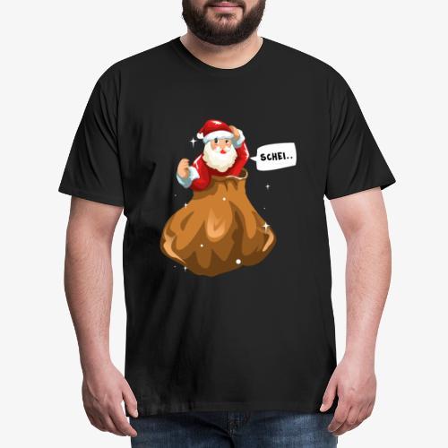 Kung Fu Weihnachtsmann Geschenk - Men's Premium T-Shirt