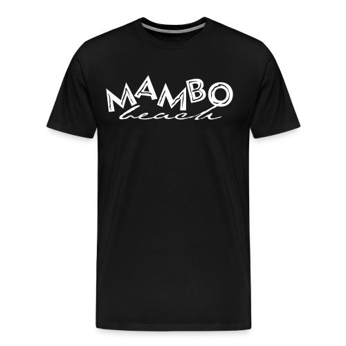 MAMBO BEACH CURACAO - Mannen Premium T-shirt