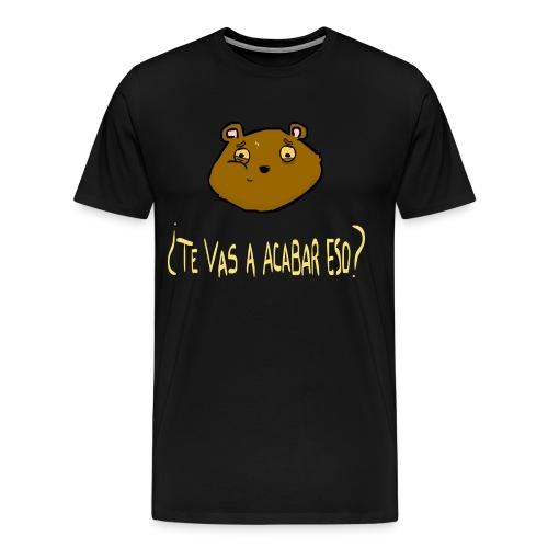 Ardilla glotona - Camiseta premium hombre