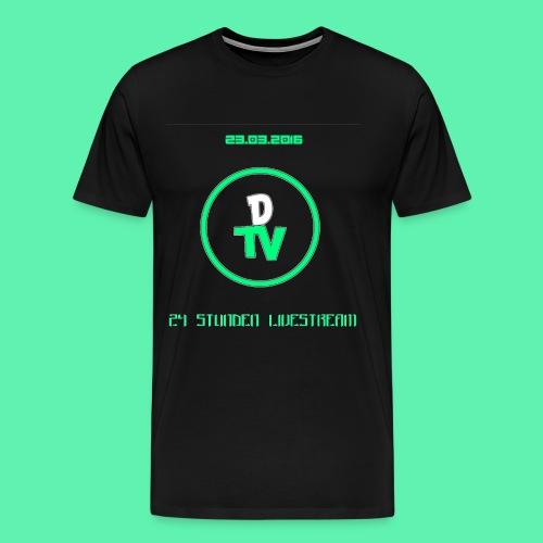0B15A92A-4E55-4E9B-8016-A - Männer Premium T-Shirt