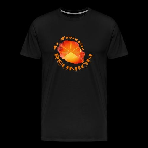 Collection Lo Mahavéli Volcan La Fournaise - T-shirt Premium Homme