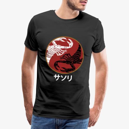 Yin Yang Scorpion - Men's Premium T-Shirt