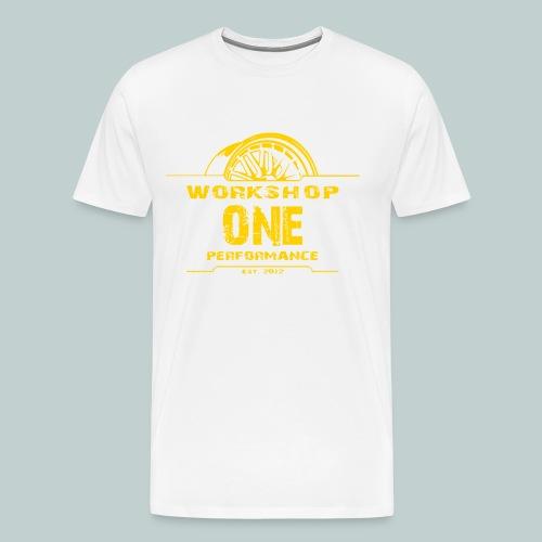 wop gelb - Männer Premium T-Shirt