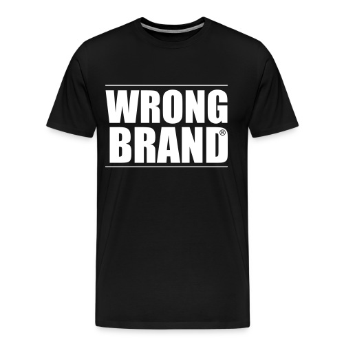 Wrong Brand: the ultimate brand parody - Men's Premium T-Shirt