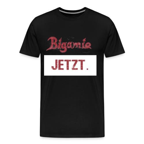 BIGAMIE-transparent - Männer Premium T-Shirt