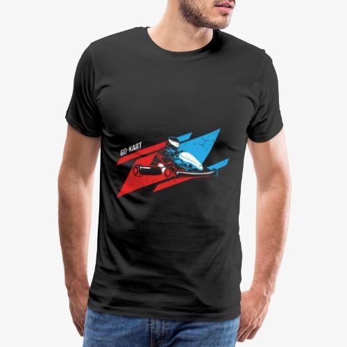Go Kart - Men's Premium T-Shirt