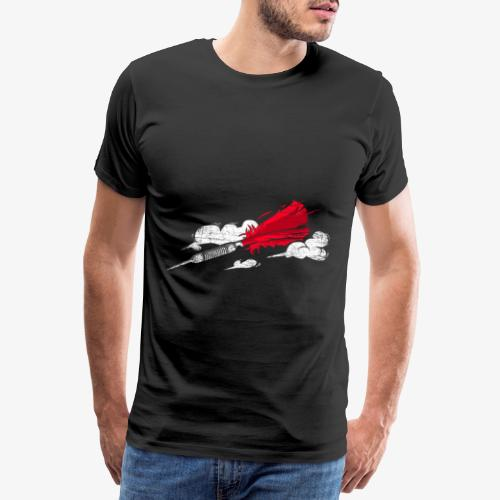 Darts arrow gift - Men's Premium T-Shirt