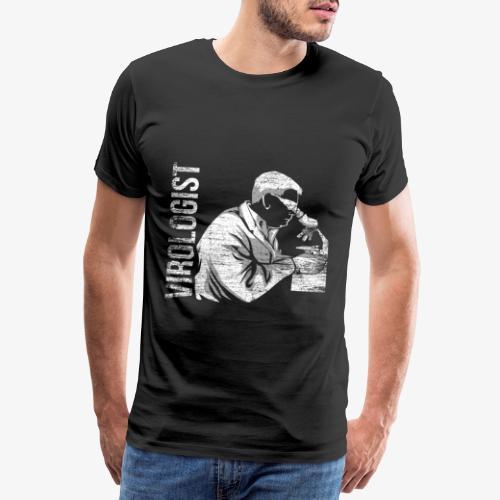 Virologist Virology Gift - Men's Premium T-Shirt