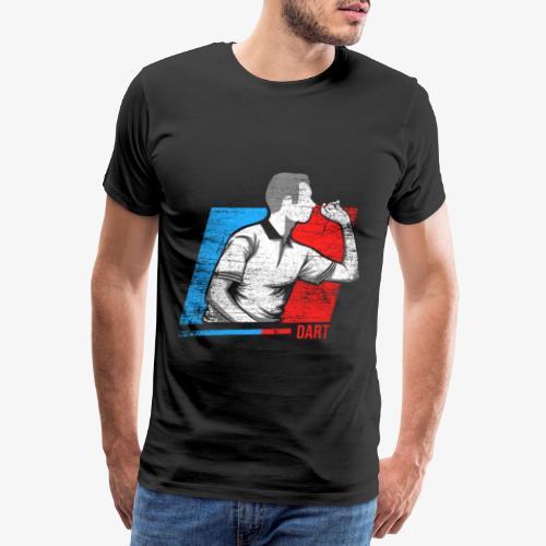 darts player - Men's Premium T-Shirt