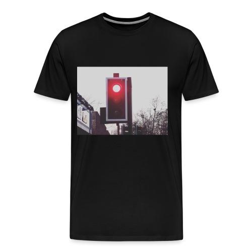 Red Traffic Light - Men's Premium T-Shirt