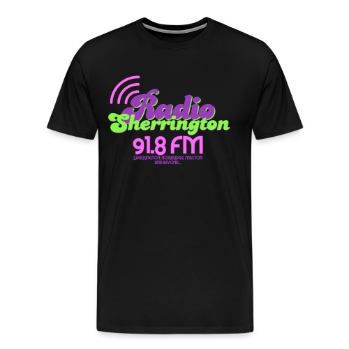 Radio Sherrington 1989 - Men's Premium T-Shirt