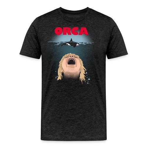 Orca - Herre premium T-shirt