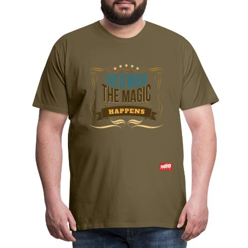 Indie Music logo - Men's Premium T-Shirt