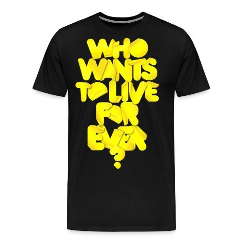whowants? - Maglietta Premium da uomo