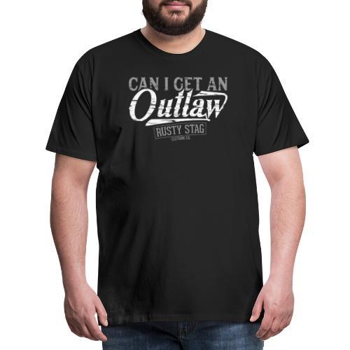 Outlaw 01 png - Men's Premium T-Shirt
