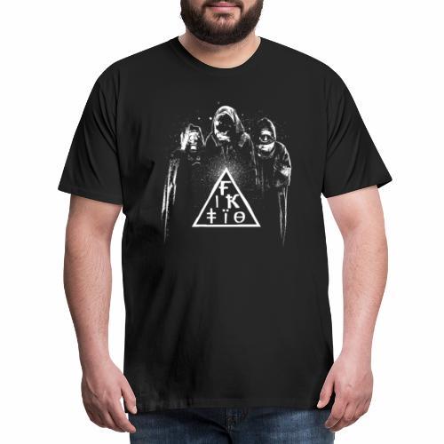 Fiktio Astronautit - Miesten premium t-paita
