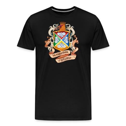 Blåkulla skolemblem - Premium-T-shirt herr