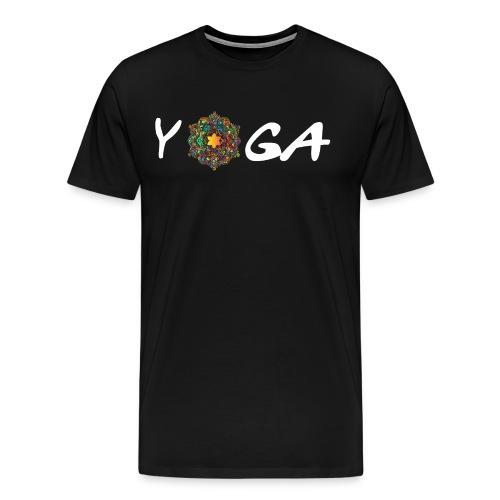 YOGA MANDALA T-SHIRT - Männer Premium T-Shirt
