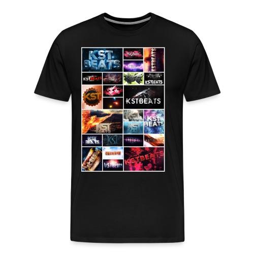 KsTBeats Mosaik Logo - Männer Premium T-Shirt