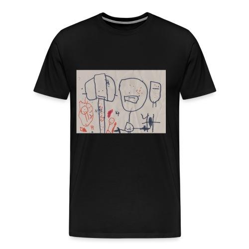 Kidsdesign1 - Männer Premium T-Shirt