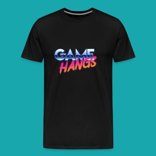 GameHangs Snapback - Men's Premium T-Shirt