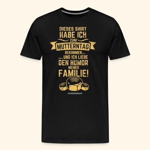 Mutterntag - Männer Premium T-Shirt
