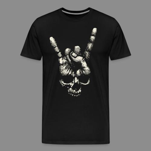 Mano Skull - Camiseta premium hombre