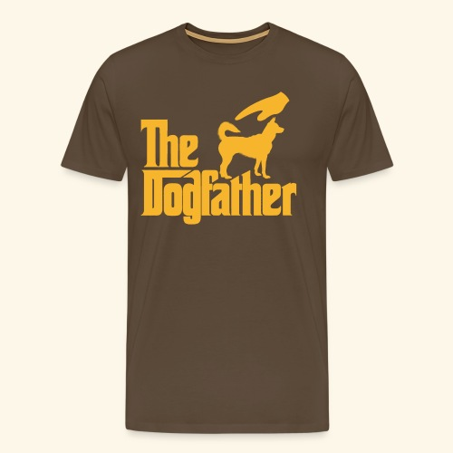 lustiges Dogfather Pate Hunde T-Shirt - Männer Premium T-Shirt